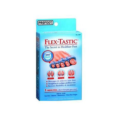 PROFOOT Flex-Tastic Gel Toe Relaxer - Pack of 6