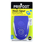PROFOOT Heel Spur Relief Cushions For Men - Pair