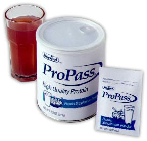 ProPass Instant Whey Protein Supplement Powder - 7.5oz Pack of 6