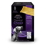 Purina erinary Diets Dental Chewz For Dogs - Case of 6 Boxes