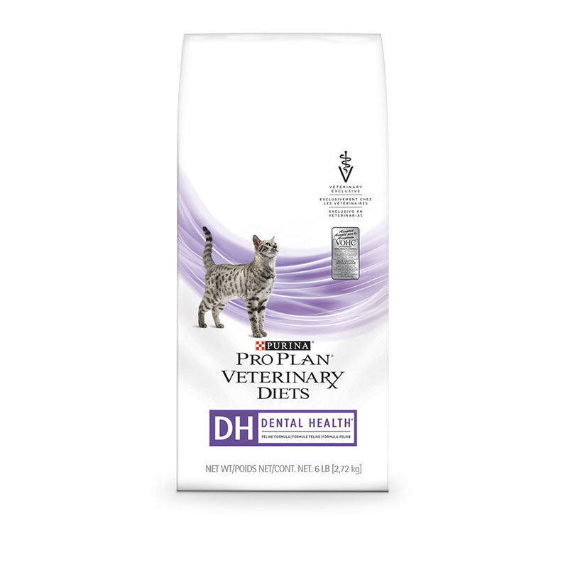 Purina Veterinary Diets DH Dental Health For Cats 6 lb bag