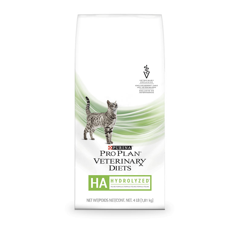 Purina Veterinary Diets HA Hypoallergenic For Cats 4 lb bag