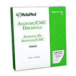 Reliamed 4 x 4 Calcium Alginate Cmc Blend, 10 per Box