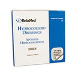 Reliamed 6 x 6 Hydrocolloid Wound Dressing, Bevld Edge, 5 per Box thumbnail