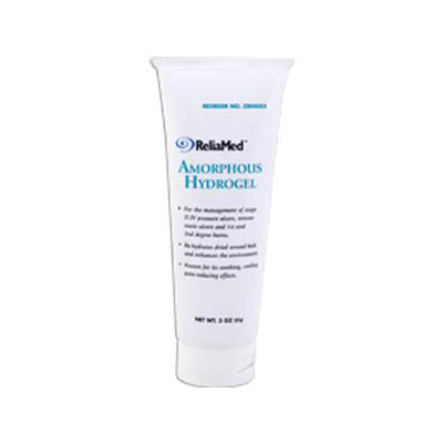 Reliamed Amorphous Hydrogel, 3 Oz Tube, Each