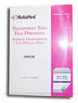 ReliaMed Transparent Thin Film Dressings - 6 in x 8 in - Box of 10 thumbnail