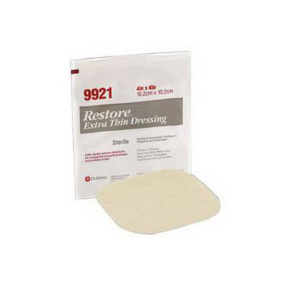 Hollister Restore 8 x 8 Extra Thin Hydrocolloid Dressing 3/bx