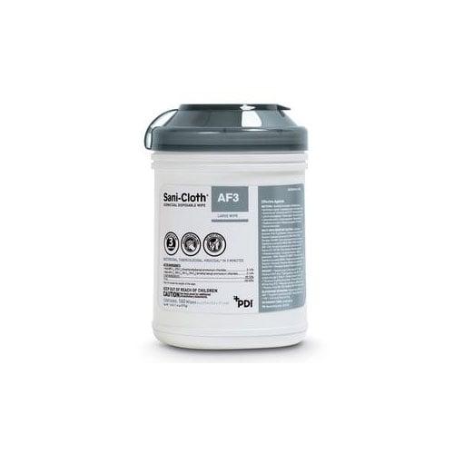 Sani-Cloth AF3 Germicidal Disposable Wipes, L, 6