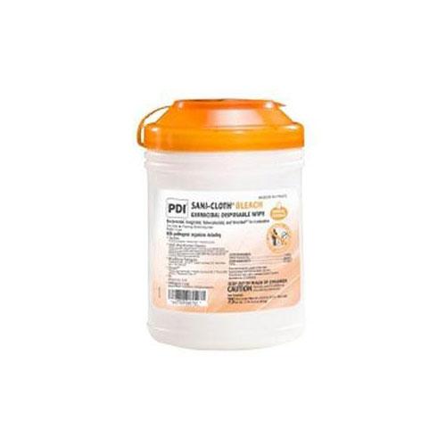 Sani-Cloth Bleach Germicidal Disposable Wipes, XL, 11.5