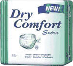 SCA Dry Comfort Extra Briefs X-Large 60x64 10/bag