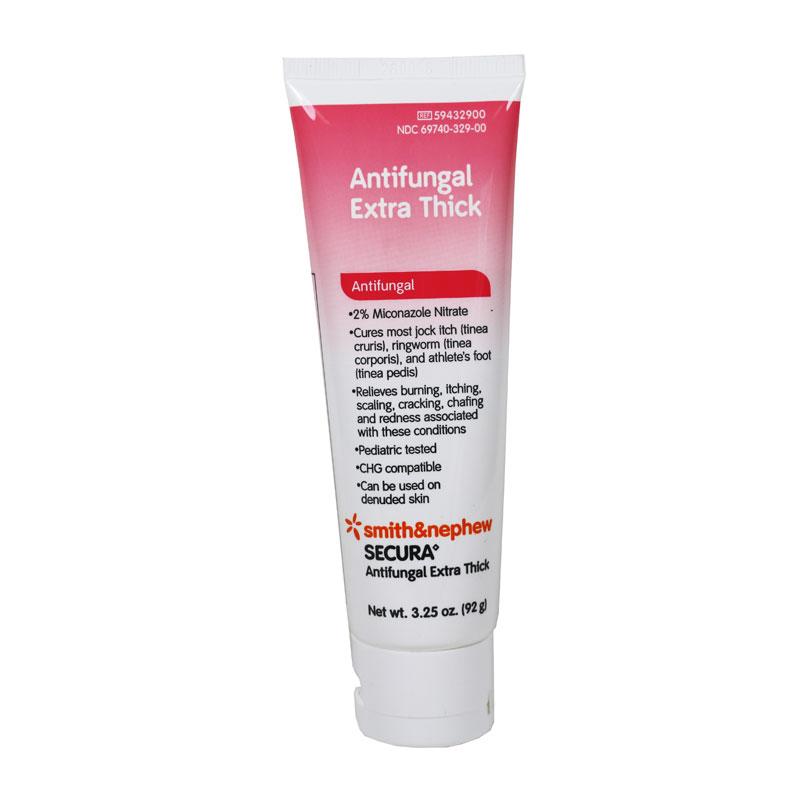 Smith and Nephew Secura Antifungal Extra Thick 3.25oz 6/Pack 59432900
