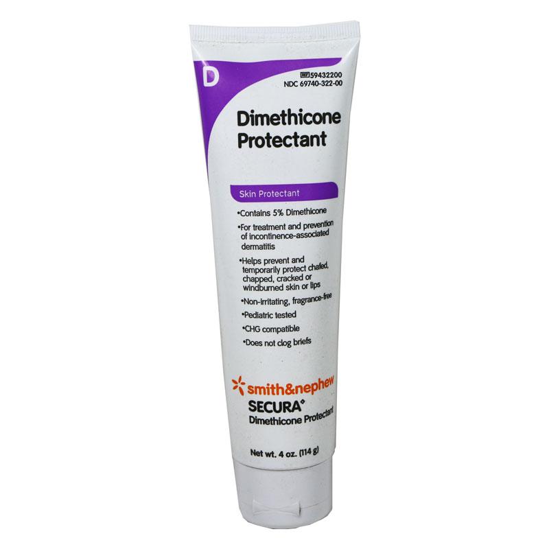 Smith and Nephew SECURA Dimethicone Protectant - 4 oz Tube