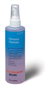 Smith and Nephew Secura Personal Cleanser 8 fl oz 59430400