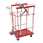 SharpSafety Foot Pedal Cart for Slide Lid Container, 12 & 18 Gallon thumbnail