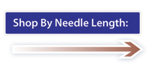 Shop by Needle Length