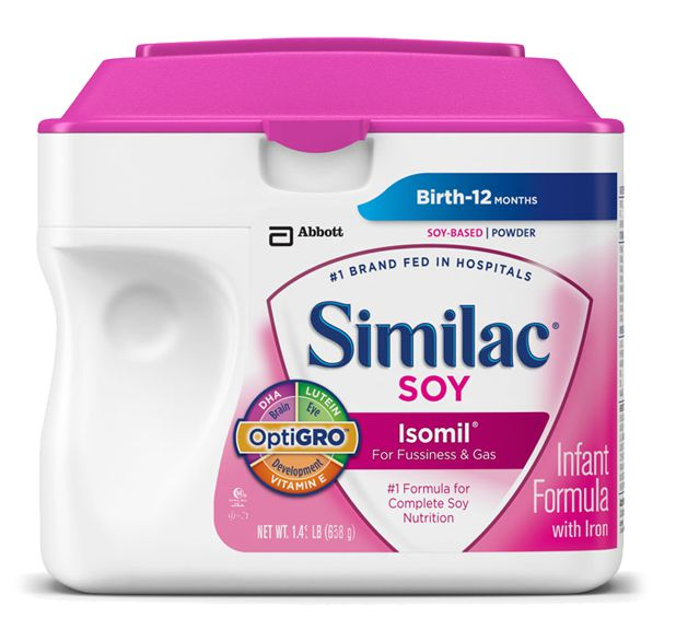 Abbott Similac Isomil Soy Advance w/Iron Powder 23.2oz Each