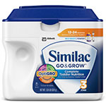Abbott Similac Go & Grow Milk Based Formula Powder 22oz Case of 6
