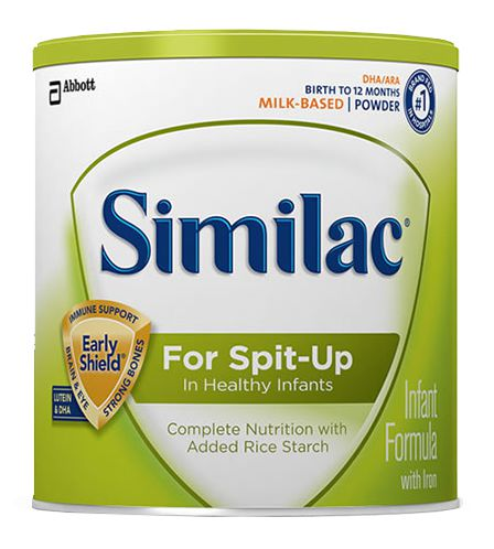 Abbott Similac Sensitive For Spit Up 12.3oz Powder w/Iron Case of 6