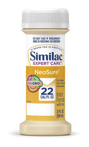 Abbott Similac Expert Care NeoSure Infant Formula w/Iron 2oz 48-Pack