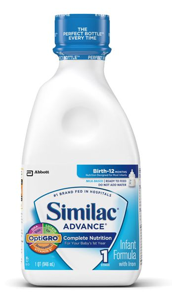Abbott Similac Advance OptiGRO With Iron 32oz Each Case of 4