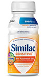 Abbott Similac Sensitive On-The-Go Ready to Feed 8oz Case of 24