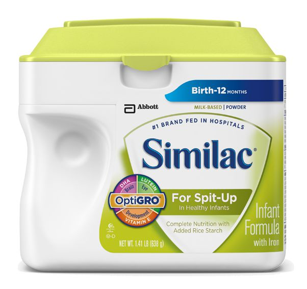 Abbott Similac Sensitive For Spit Up 1.45 lbs. Powder Each