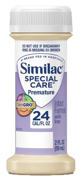 Abbott Similac Special Care With Iron 30 Lutein 2oz 48-Pack