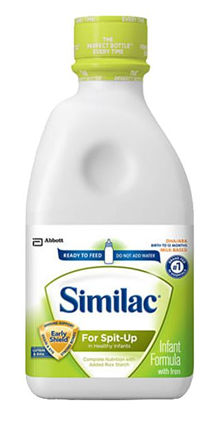 Abbott Similac Sensitive For Spit Up Ready To Feed 1 Qt Each