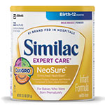 Abbott Similac Expert Care Neosure w/Iron 13.1oz Powder Each