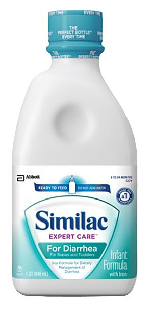 Abbott Similac Expert Care Diarrhea Ready To Feed 1 Qt Case of 6