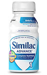 Abbott Similac Advance Earlyshield Complete Nutrition 8oz Case of 24