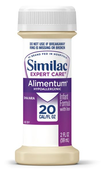 Abbott Similac Alimentum Expert Care Ready To Feed 59ml Case of 48