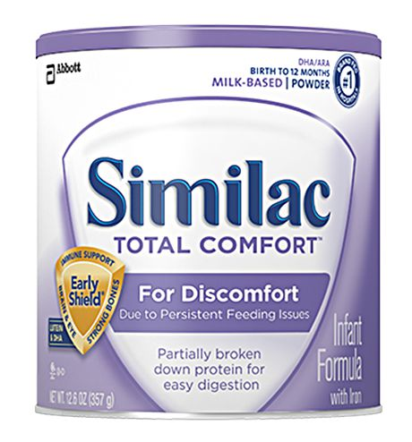 Abbott Similac Total Comfort Powder Infant Formula w/Iron 12.6oz Each