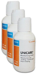 Unicare Moisturizing Lotion 2oz 445400 Pack of 3