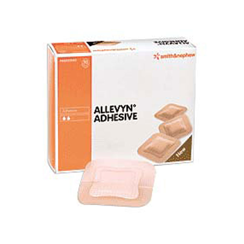 Smith and Nephew Allevyn Gentle Border Adhesive Dressing 66020045
