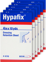 Smith & Nephew Hypafix Tape 4in x 10yd 4210 - 6-Pack