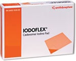 Smith Nephew Iodoflex Gel Pad Dressing 2 1/8