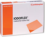 "Smith Nephew Iodoflex Gel Pad Dressing 2 1/8""x3"" 3/bx 6602134010 thumbnail"