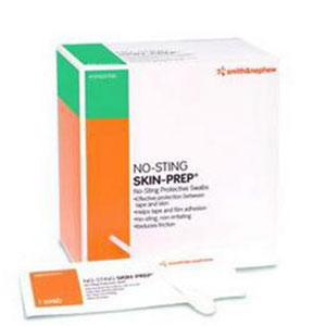 Smith and Nephew No-Sting Skin Prep Protective Swabs 50/bx Case of 10