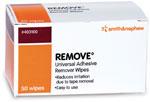 Smith and Nephew REMOVE Adhesive Remover Wipes - Box of 50