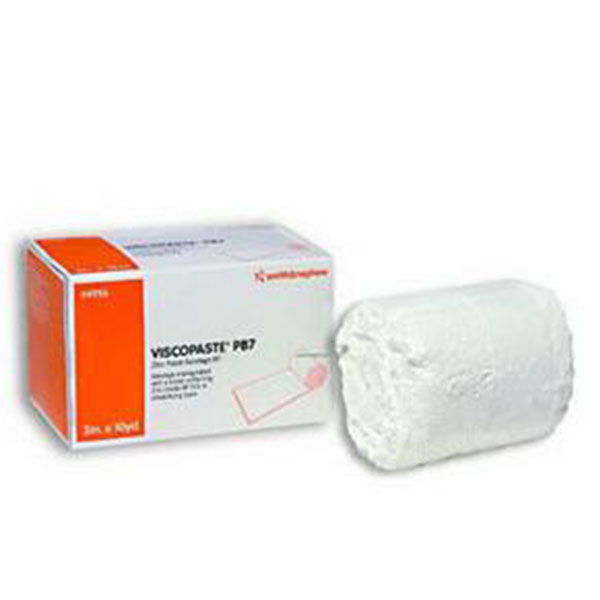 Smith & Nephew Viscopaste PB7 Zinc Bandage 3in x 10yds 6-Pack 4956
