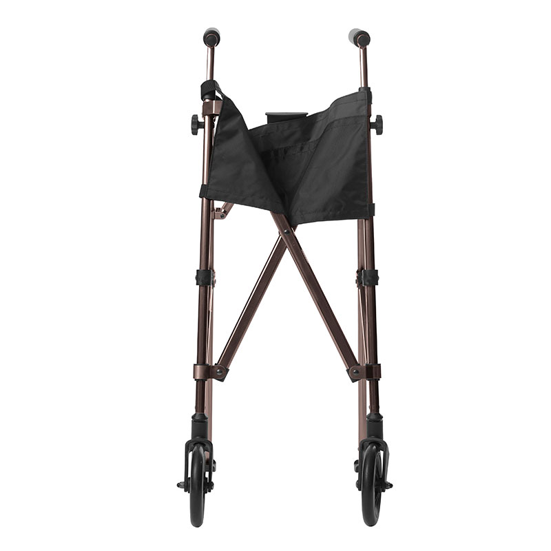 Stander EZ Fold-N-Go Walker - Black Walnut
