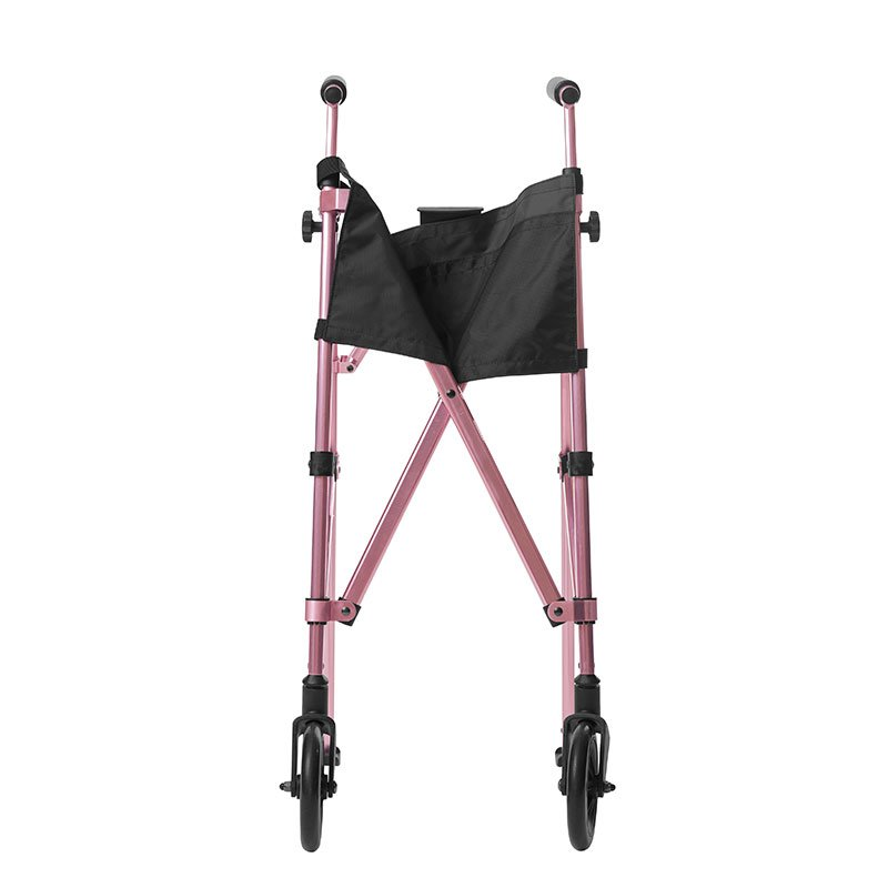 Stander EZ Fold-N-Go Walker - Regal Rose