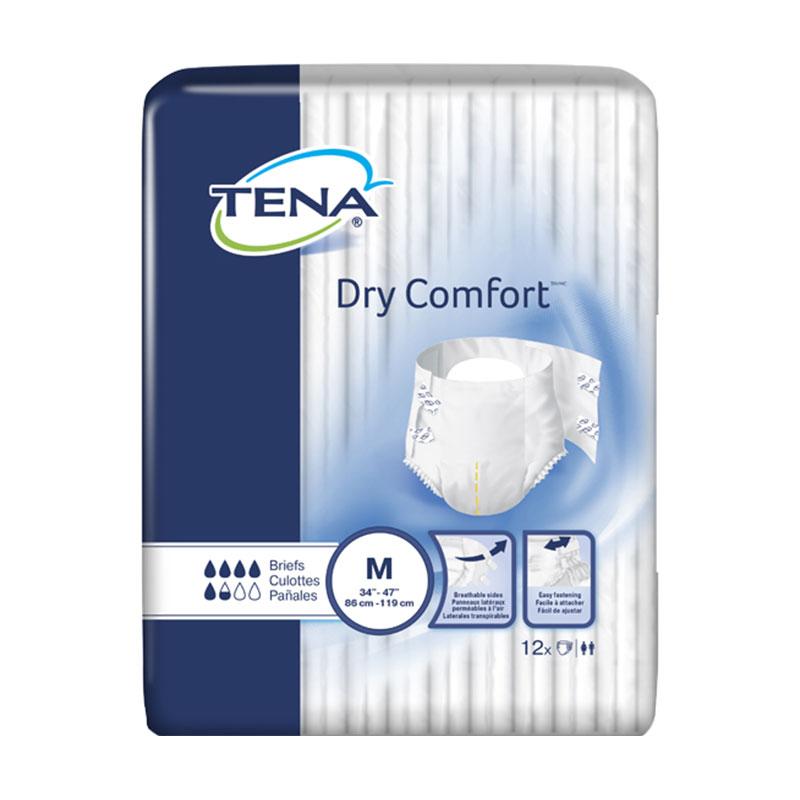 TENA Dry Comfort Briefs, 34
