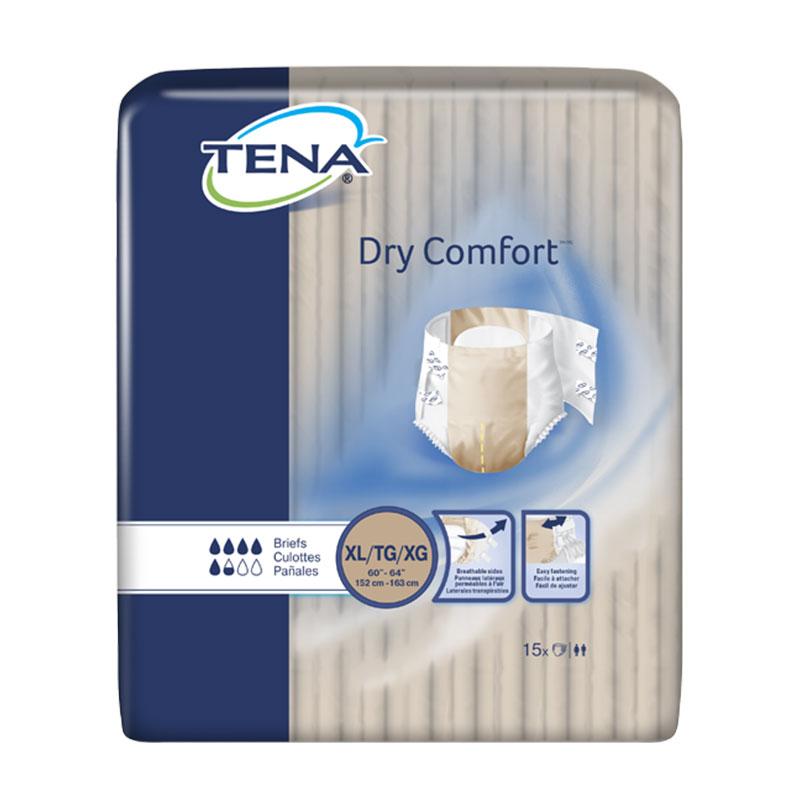 TENA Dry Comfort Briefs, 60