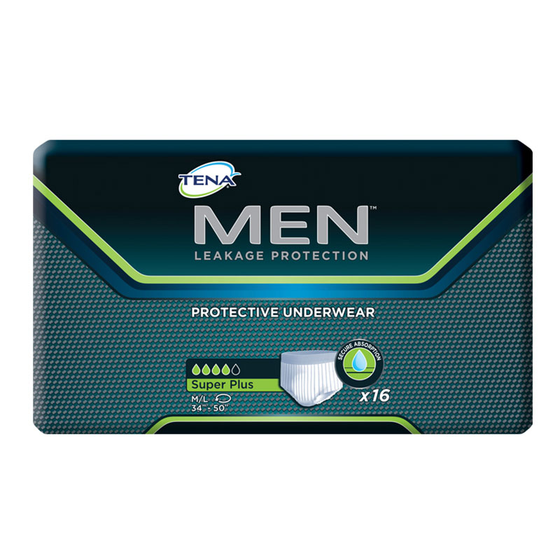 TENA MEN Protective Underwear, Super Plus, 34