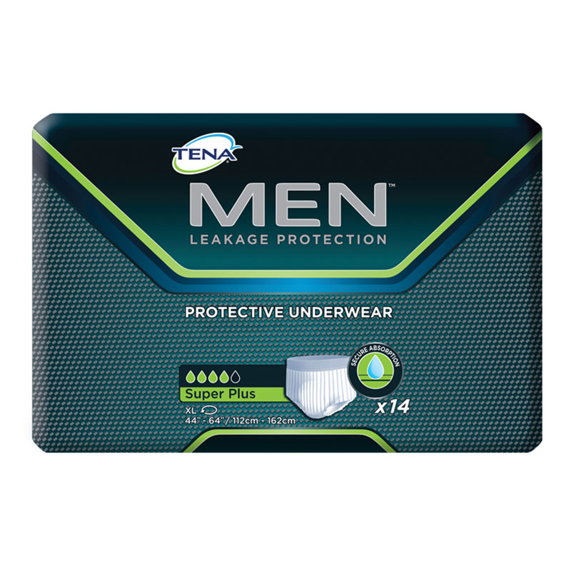 TENA MEN Protective Underwear, Super Plus, 44