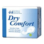 Dry Comfort Pad, Day, Moderate Sold By Bag 44/Each