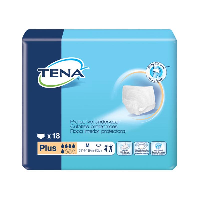 TENA Protective Underwear, Plus Absorbency, 34