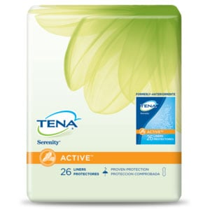 Tena Serenity Regular Pantiliners Sold By Bag 26/Each